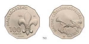 100 Forint Pfadfinder Gedenkmünze